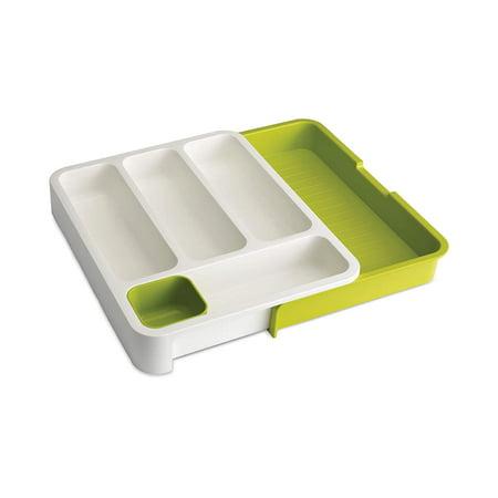 Joseph Joseph DrawerStore expandable cutlery tray - White Green