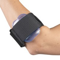 OTC Tennis Elbow Strap with Air Pad, Black, Adjustable / Universal