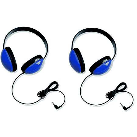 - Califone 2800-BL Listening First Stereo Headphone (Blue, 2-Pack)