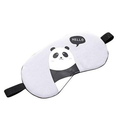 Buy Masks (AkoaDa Cartoon Animal Eye Mask Blindfold Eye Patch Sleeping Eyeshade rabbit,brown bear, black bear, panda Pattern Sleep Eye Mask For Kids Boy Girl)