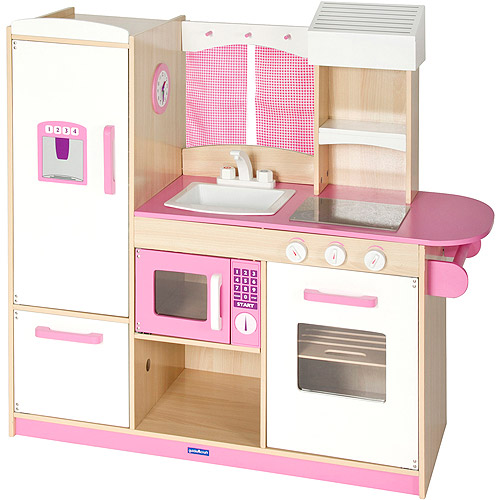 Guidecraft Play Along Kitchen, Pink