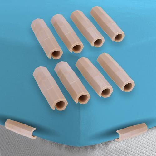 8 Mattress Plastic Sheet Clips For Bedding Keeps Fitted Sheets Smooth Tucked In