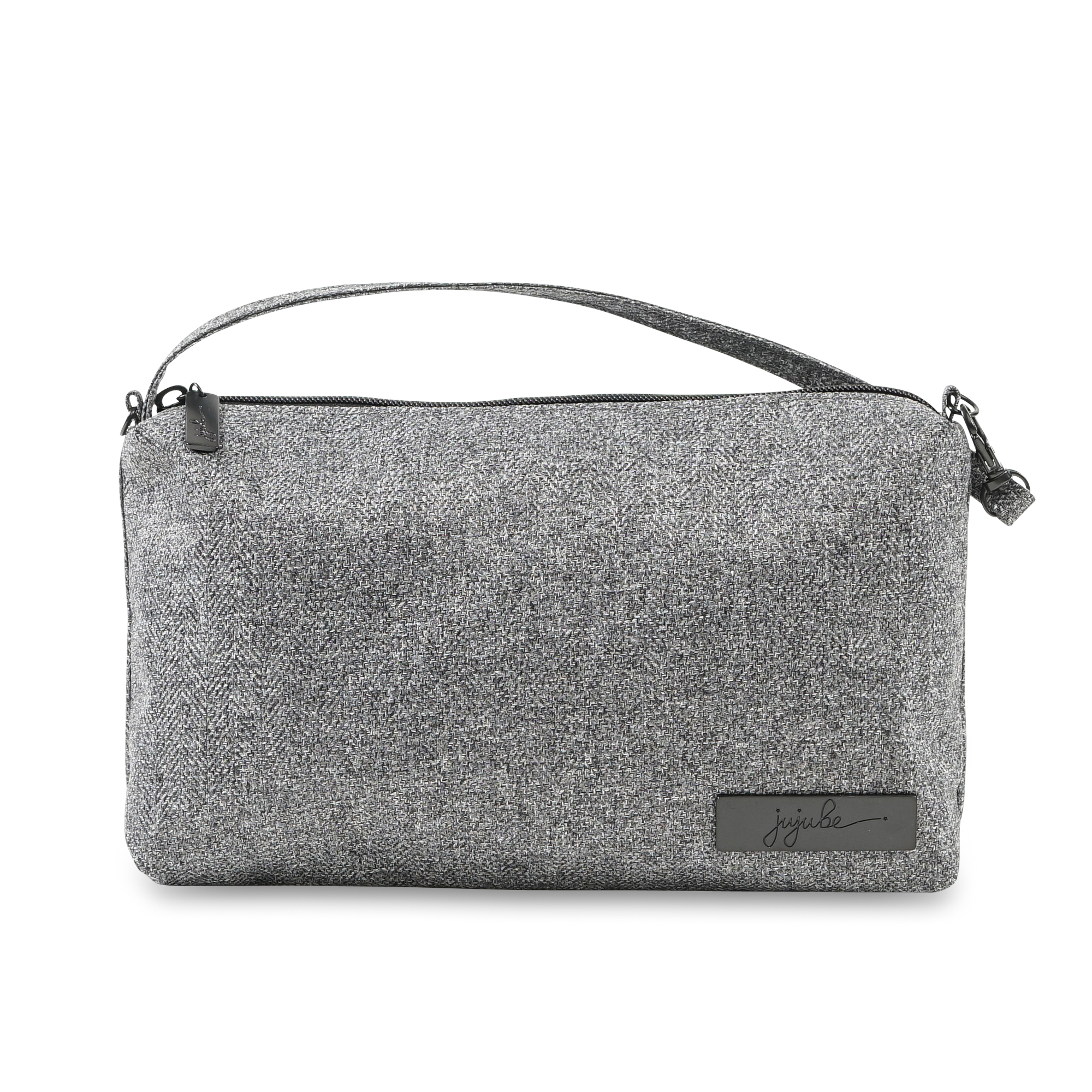 Jujube Be Quick Wristlet in Gray Matter