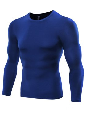 2ee8b12ad Product Image Funcee Mens Casual Long Sleeve Compression Sports Shirts Tops  Yoga Basketball Wear
