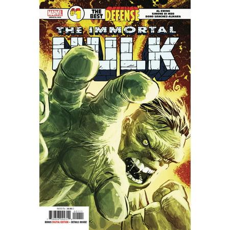 Marvel Defenders: The Best Defense #1 Immortal