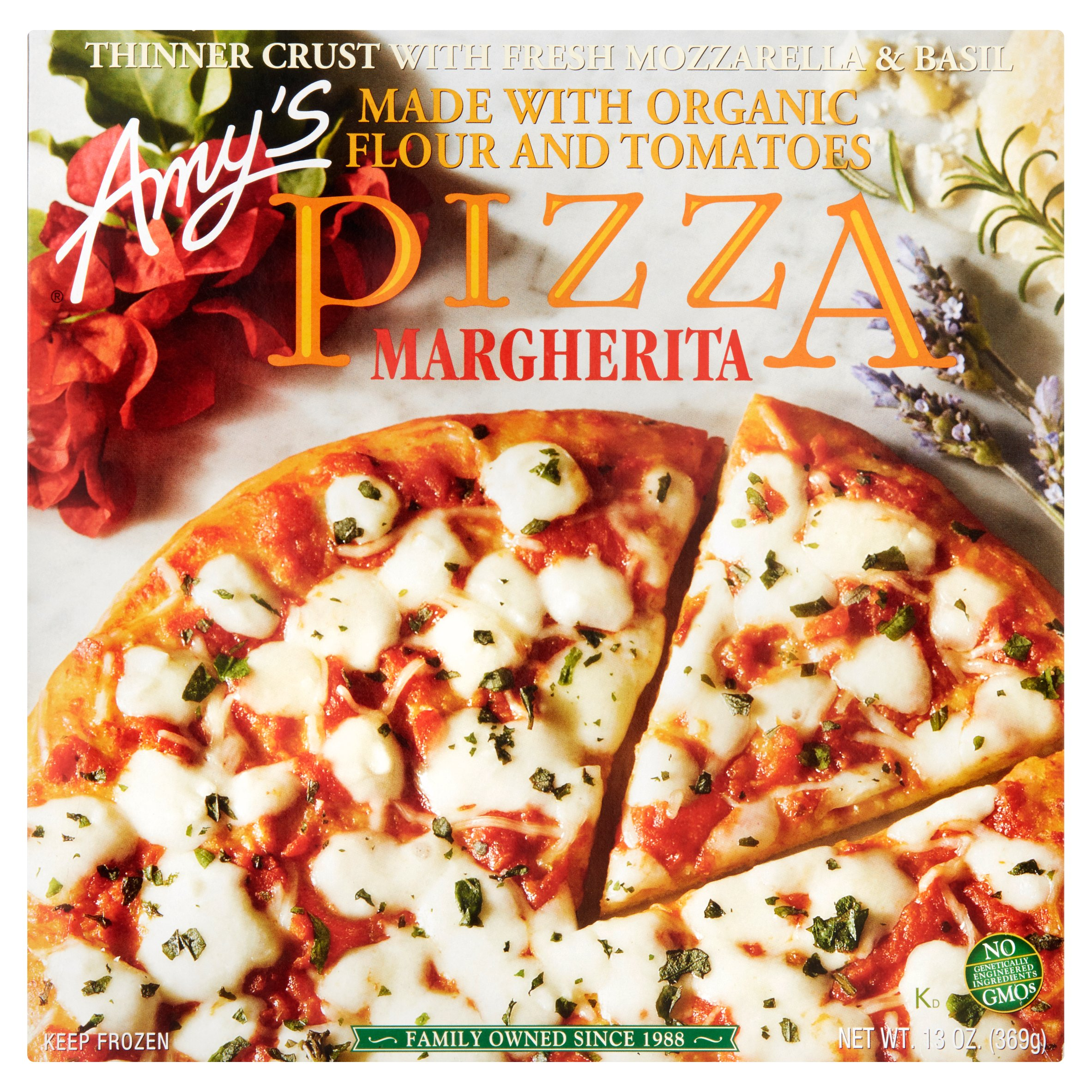 Amy's Kitchen Margherita Pizza