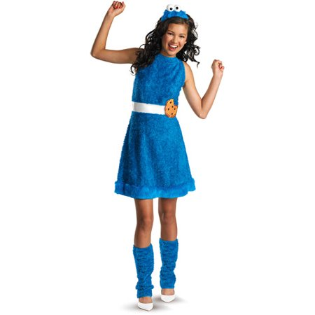 Cookie Monster Teen Halloween Costume - Cookie Monster Halloween Costume Adults