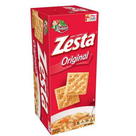 - Keebler Zesta Original Saltine Crackers, 16 Oz.