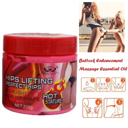 Tuscom Buttock Enhancement Massage Cream Hip Lift Up Butt Firm Skin