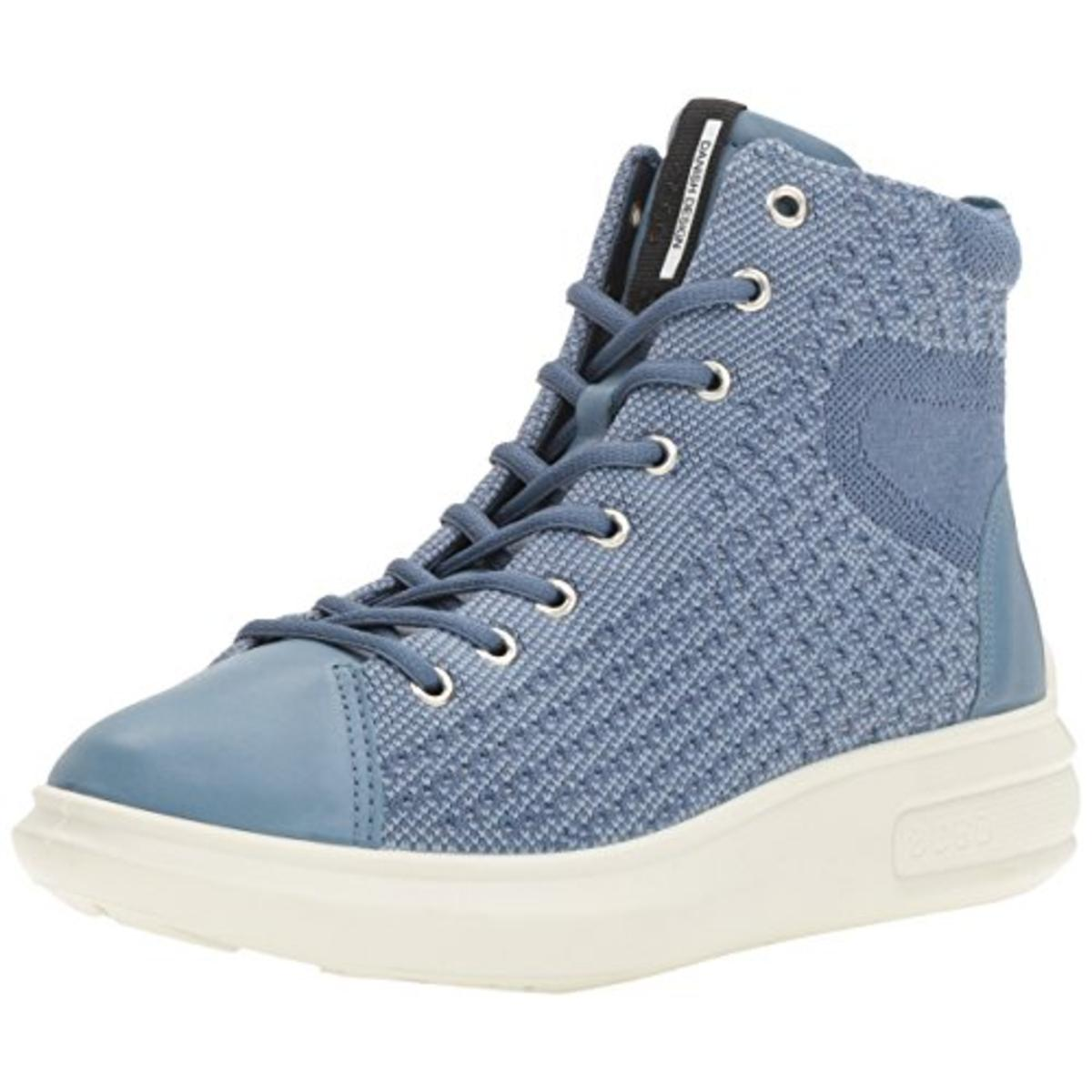 ECCO Womens High Top Leather Fashion Sneakers by Ecco