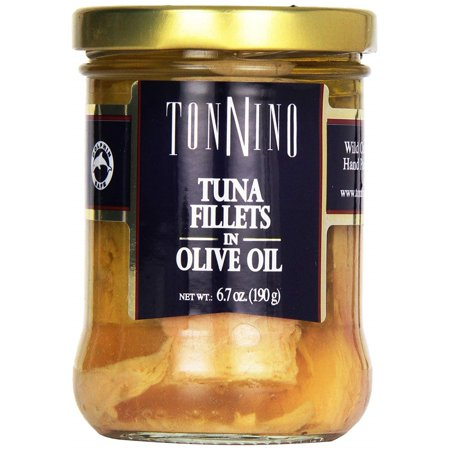 Tonnino Yellowfin Tuna Fillets in Olive Oil 6.7 Oz. (Tonnino Tuna Fillets)