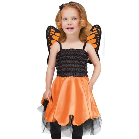 Fun World Kids Toddler Girls Fairy Butterfly Halloween - Fun Halloween Costumes For Girls