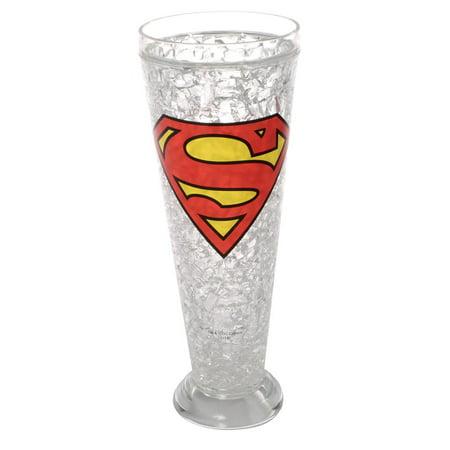 Super Hero 16 Oz. Pilsner Glass - Superman