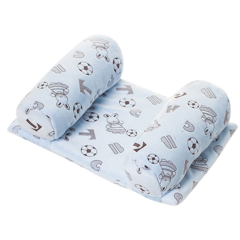 Baby Infant Newborn Pillow Anti Roll Support Sleep Head