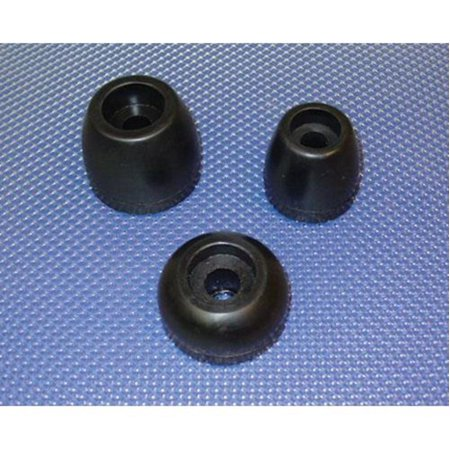 Yates Rubber Corp 130-4 Roller End Cap - 1-1/4in. x  3in. x  1/2in.