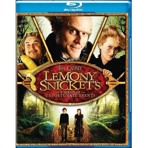 film lemony snicket's a series of unfortunate events bluray