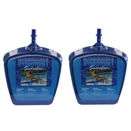 2) Hydro Tools 8039 Professional Swimming Pool/Spa/Pound Leaf Skimmer Mesh Net