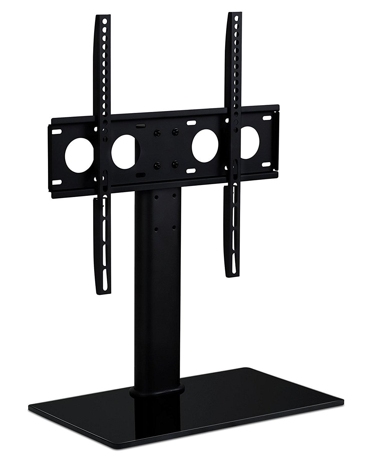 Mount It! TV Stand Universal Table Top Flat Screen Television Base With  Anti