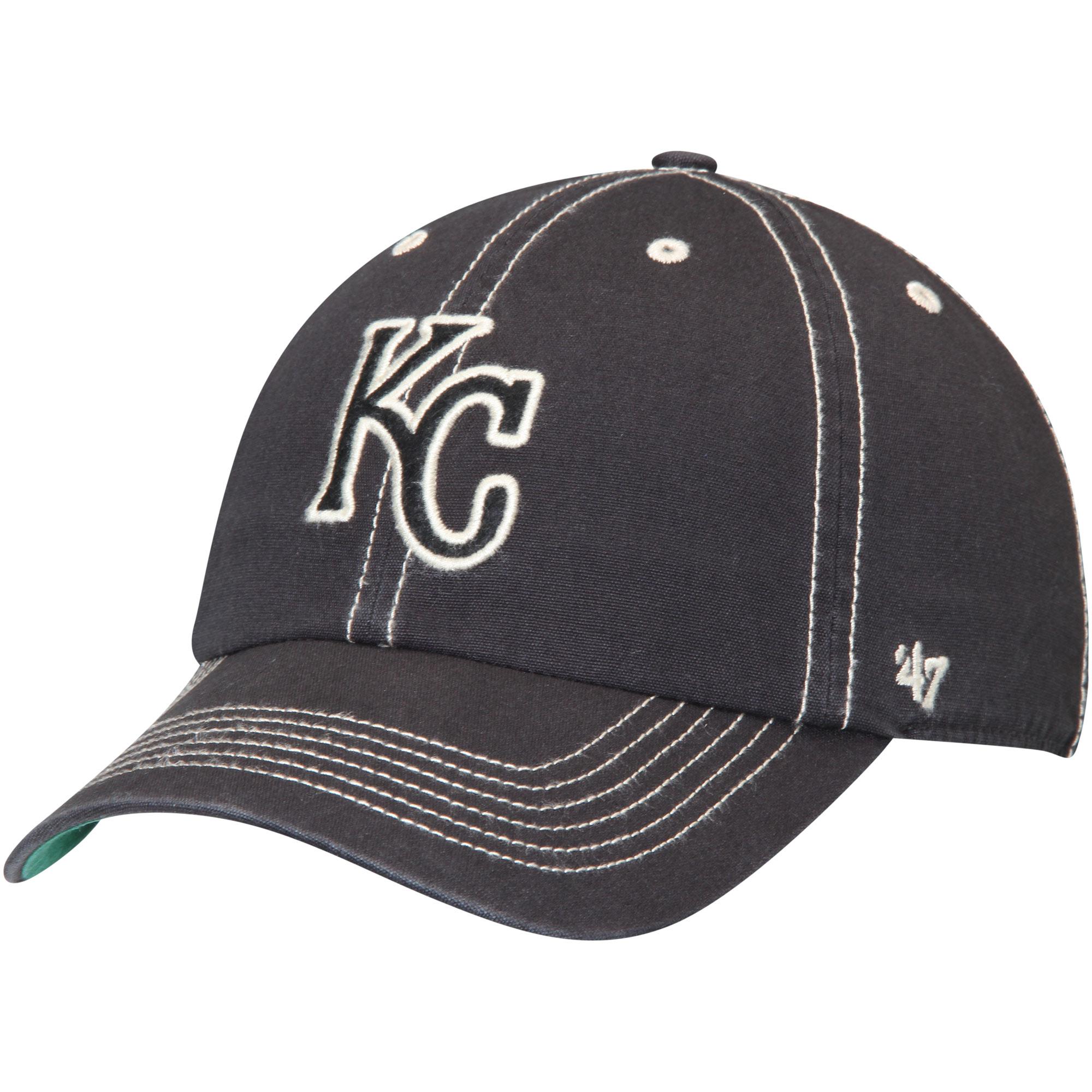 Kansas City Royals '47 Groveland Franchise Fitted Hat - Black