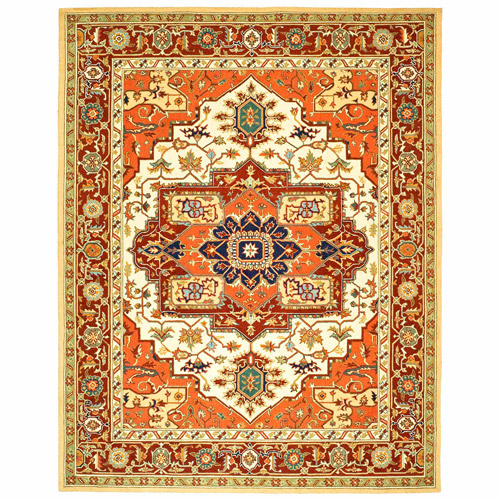 Safavieh Chelsea Red / Ivory Outdoor Area Rug