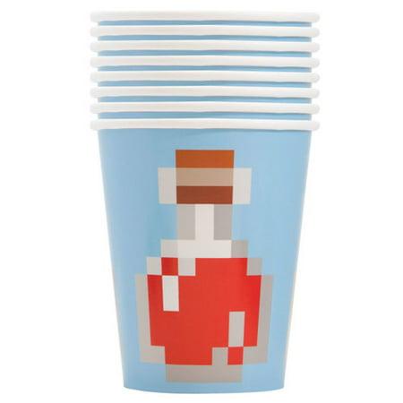 Minecraft 9oz Paper Cups (8ct)