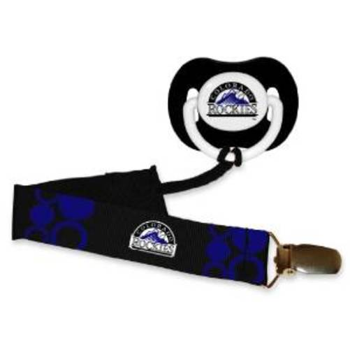 MLB Baseball Baby Infant Pacifier with Clip Set - Pick Team!
