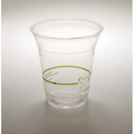 Corn Cold Cups (12 oz. Cold Drink Cup PLA Biodegradable PLA Corn Plastic (Pack of 500))