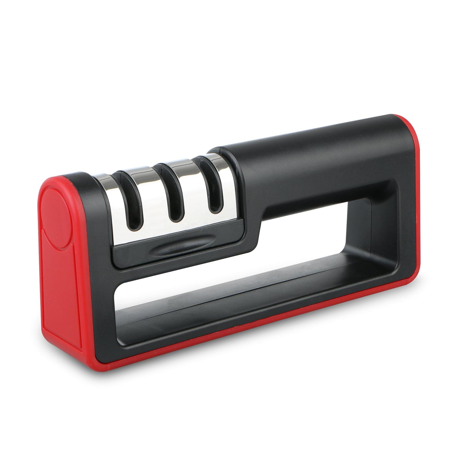 TSV Knife Sharpener Professional Ceramic Tungsten Kitchen Sharpening System Tool