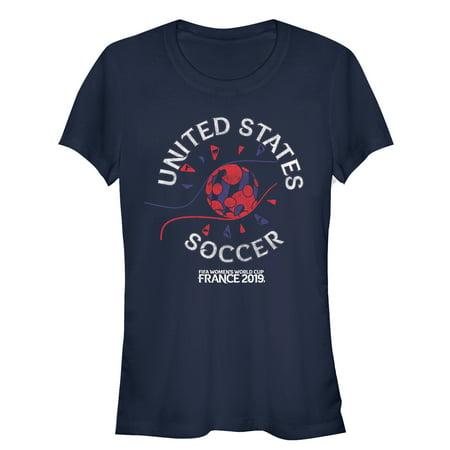 Nike Holland World Cup - FIFA Women's World Cup France 2019™ Juniors' USA Vintage Tournament Logo T-Shirt