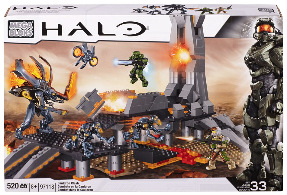 Mega Bloks Mega Brands Halo Cauldron Clash by Mega Brands