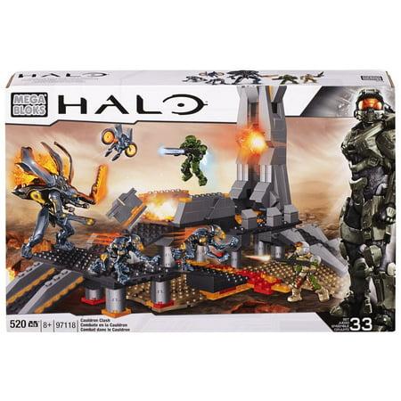 Mega Bloks Halo Cauldron Clash Play Set