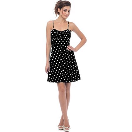 50's Retro Rockabilly Polkadot Dress Sundress](Turquoise Wedding Dress)