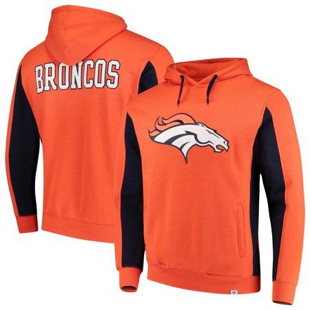 on sale 335af a81a5 Denver Broncos NFL Pro Line by Fanatics Branded Team Iconic Pullover Hoodie  - Orange