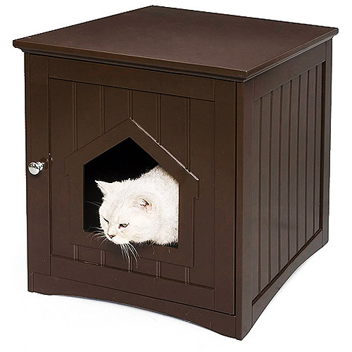 Homezone Kitty Litter House, Espresso
