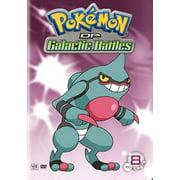 Pokemon Diamond & Pearl Galactic Battles: Volume 8 (DVD)