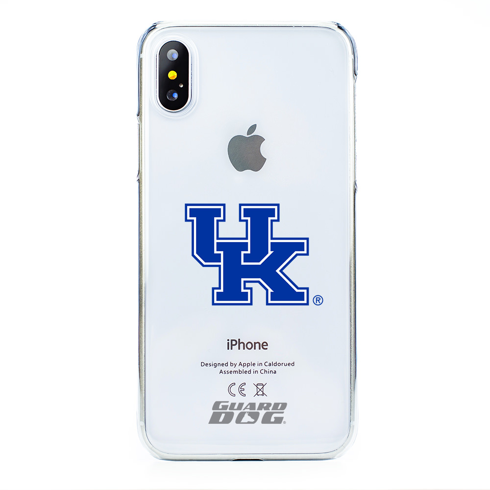 Kentucky Wildcats Clear Case for iPhone X / Xs