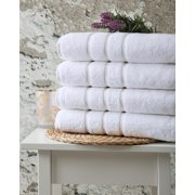 Luxury Turkish Cotton Hotel & Spa Grade Bath Towels Set Collection - Ultra Absorbent and Soft