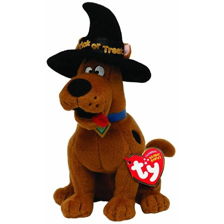 Scooby Doo With Witch Hat, Official product from Ty's wildly popular Beanie Babies Collection By TY Beanie Baby Ship from US