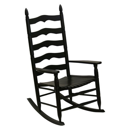 Enjoyable Hinkle Farm House Ladder Back Wood Patio Rocking Chair Andrewgaddart Wooden Chair Designs For Living Room Andrewgaddartcom