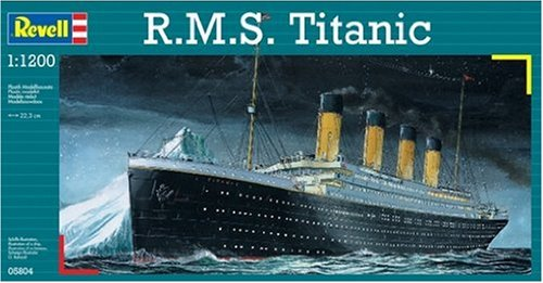 R.M.S. Titanic Plastic Model Kit, 1021 850445 Teachers Students 14217 Chevy Rubicon... by