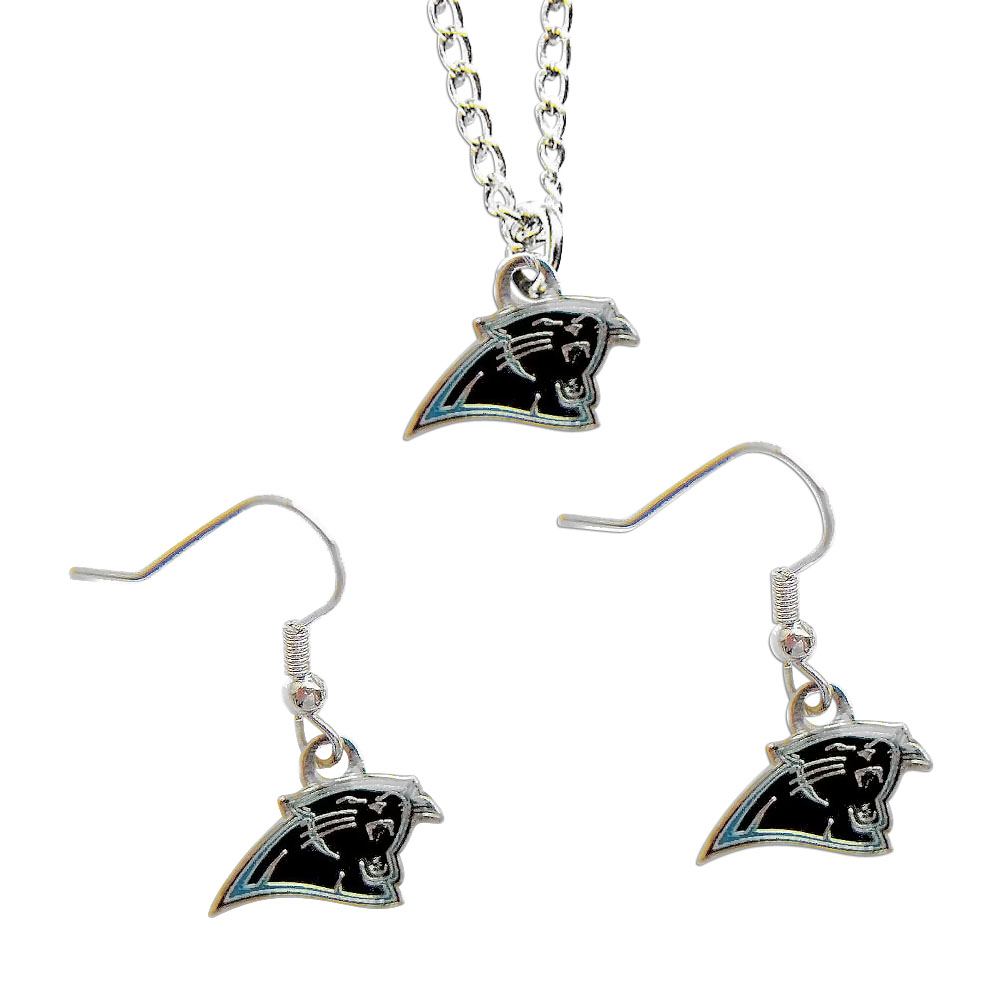 carolina panther jewelry carolina panthers nfl necklace and dangle sports team logo 719