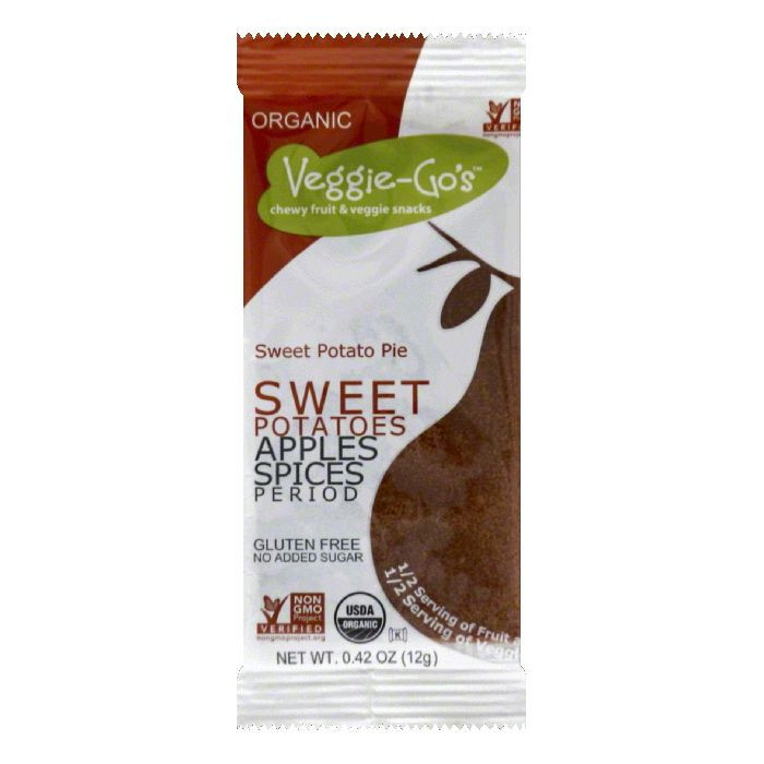 VEGGIE GOS Sweet Potato Pot Pie, 0.42 OZ (Pack of 20) by VEGGIE GOS