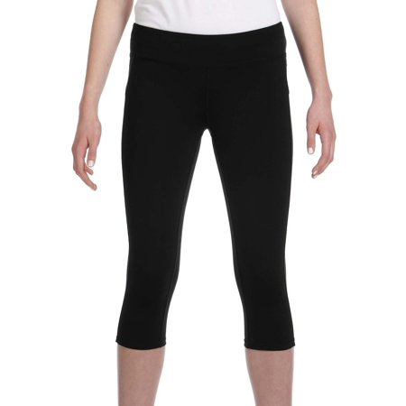 2625501d54245 Alo - Alo Women's Black Capri Leggings - Walmart.com