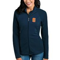 Syracuse Orange Antigua Women's Sonar Full-Zip Jacket - Navy