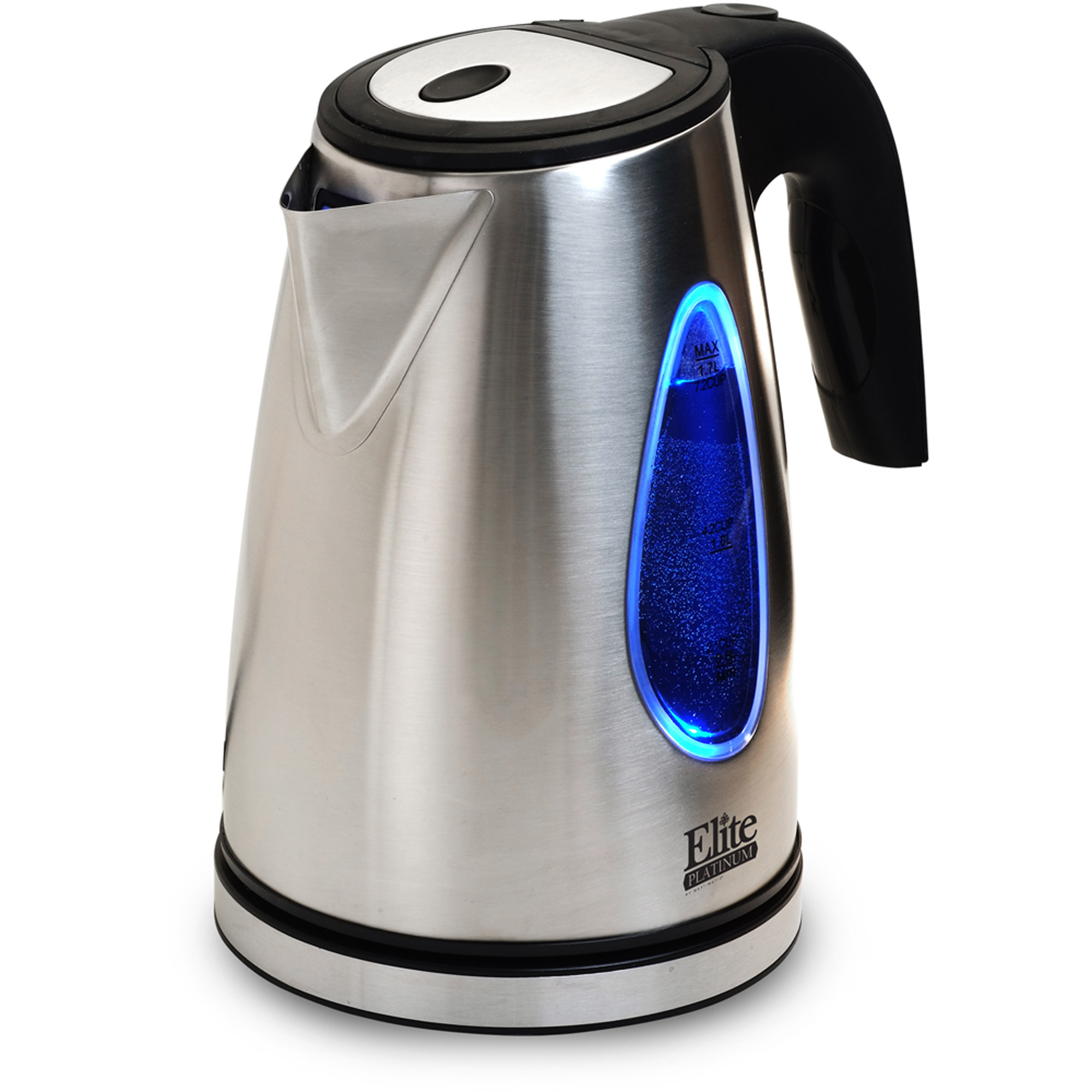 Elite Platinum EKT-1271 Stainless Steel 1.7L Cordless Kettle