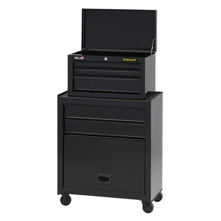 Stanley 5 Drawer Rolling Tool Chest and Cabinet Combination