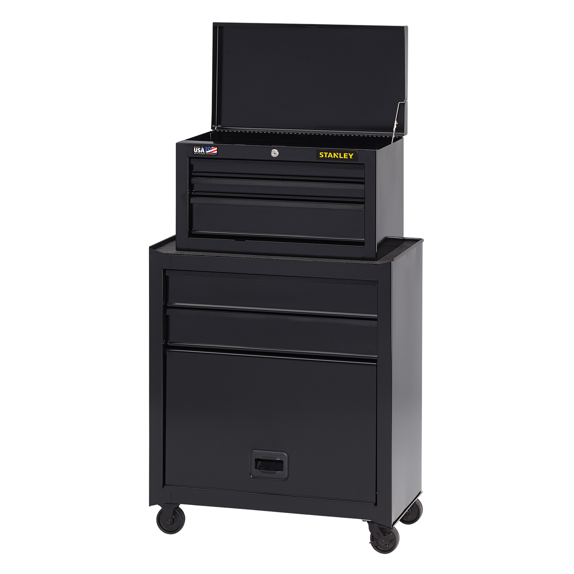 Genial Stanley 5 Drawer Rolling Tool Chest And Cabinet Combination