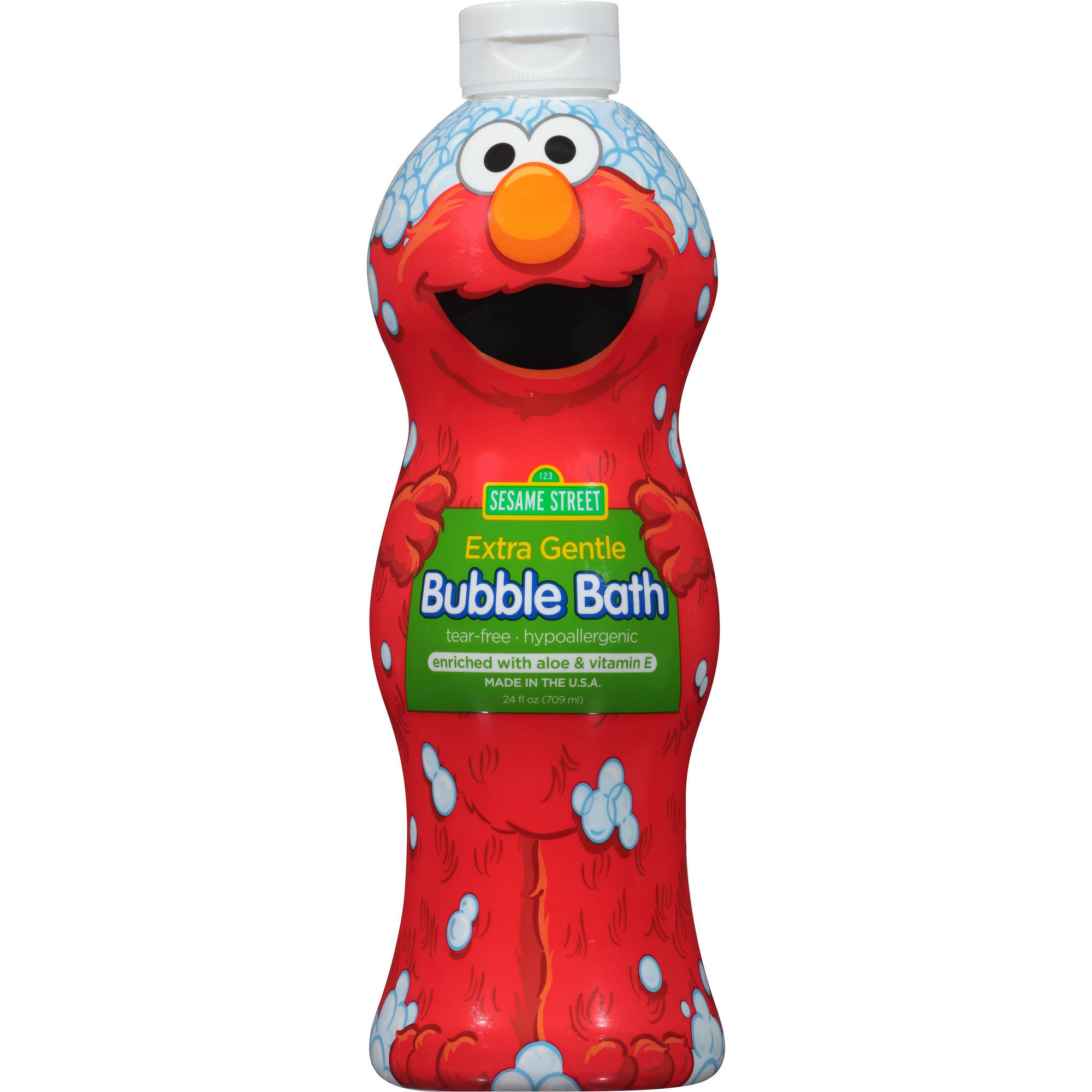 Sesame Street Extra Sensitive Bubble Bath, 24 fl oz
