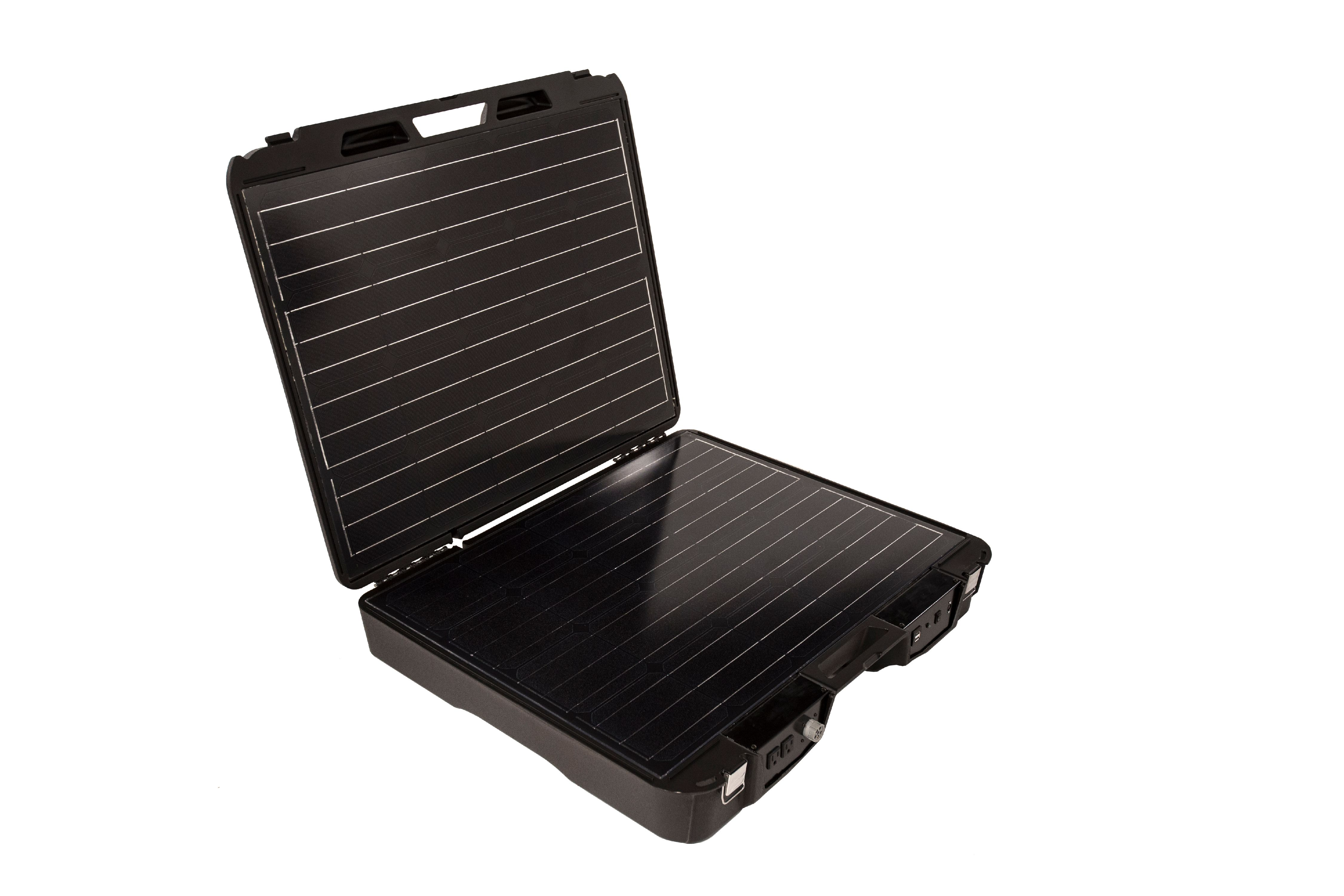 Forty2 Max Solar Generator Alternative ReNewable Energy Solar Panel System 2,000W 110V the Emergency Solar Battery Charger Power Source by