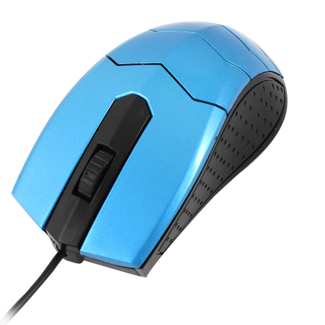 Scroll Wheel 3 Buttons LED Light USB Wired Optical Computer Mouse Blue